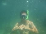 Tommy underwater